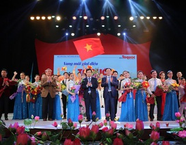 Jimmi Nguyễn tự hào được biểu diễn trong Vang mãi giai điệu Tổ quốc 2018