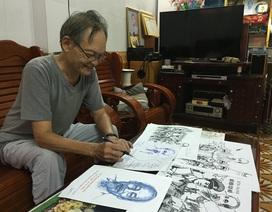Người cựu chiến binh cả đời vẽ Bác Hồ