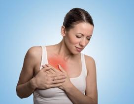 Vết bầm tím trên ngực có đáng ngại không?