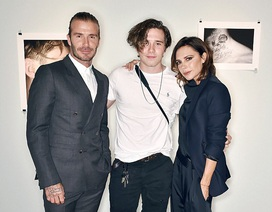 """Đại gia đình Beckham hội tụ trong ngày ra mắt sách ảnh của """"cậu cả"""""""