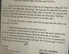 Xác minh vụ tử vong sau 2 lần mổ tại BV Việt Đức