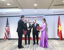"""Vietjet ký hợp đồng """"khủng"""" trong chuyến thăm của Thủ tướng tới Hoa Kỳ"""