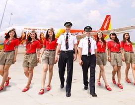 Sắp có hàng trăm cơ hội trở thành phi công, tiếp viên hàng không