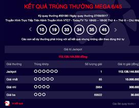 Tỷ phú trúng Vietlott 112 tỷ đồng đến từ Đồng Nai?