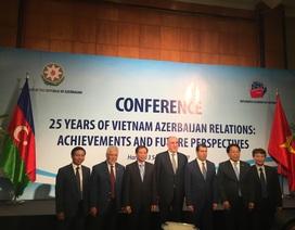 Việt Nam là đối tác tiềm năng của Azerbaijan trong nhiều lĩnh vực