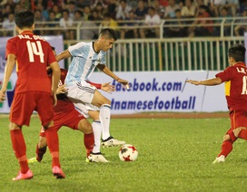 VFF có lãi ở thương vụ mời U20 Argentina sang Việt Nam?