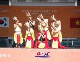 Tưng bừng lễ hội văn hóa cộng đồng người Việt tại thành phố Daejeon