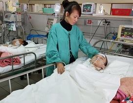 Mẹ khóc cạn nước mắt trước cảnh con nguy kịch vì chấn thương sọ não