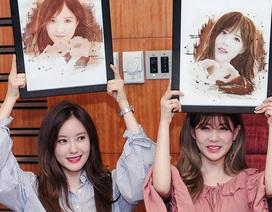 T-ara Hàn Quốc tấm tắc khen chân dung do hoạ sĩ 9x Việt vẽ