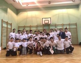 """""""Sứ giả"""" của làng thể thao - văn hóa Việt tại Ba Lan"""