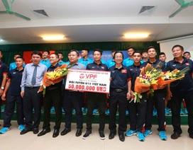 Vô địch Đông Nam Á, U15 Việt Nam được thưởng gần nửa tỷ đồng