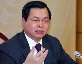 Thường vụ Quốc hội xoá tư cách nguyên Bộ trưởng của ông Vũ Huy Hoàng