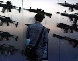 Giao dịch vũ khí toàn cầu tăng cao nhất kể từ sau Chiến tranh Lạnh