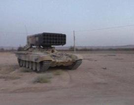 Vũ khí nhiệt áp Nga thiêu đốt sát biên giới Iraq