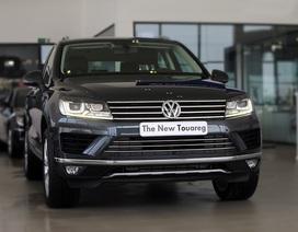 Giảm giá hàng trăm triệu đồng - Volkswagen Touareg tăng độ hấp dẫn