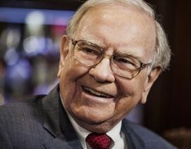 Warren Buffett đứng đầu trong những tỷ phú làm từ thiện nhiều nhất
