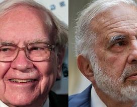 """""""Trận chiến đầu tư"""" giữa 2 tỷ phú Warren Buffett và Carl Icahn"""