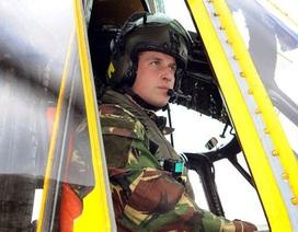 Chuyến bay ý nghĩa của Hoàng tử William trước khi dừng sự nghiệp phi công