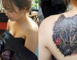 Câu chuyện bất ngờ phía sau hình xăm đầu sói của cô gái trẻ