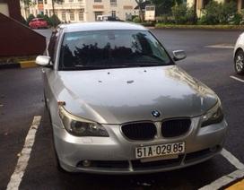 Tạm giữ xe BMW nghi nhập lậu, sử dụng giấy tờ giả
