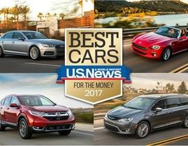 """Những mẫu xe """"đáng tiền"""" nhất năm 2017"""