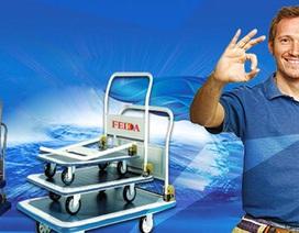 Xe đẩy hàng Feida giải pháp tiết kiệm hiệu quả cho doanh nghiệp