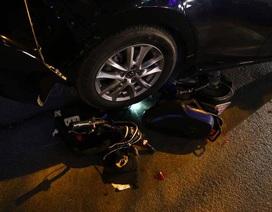 Hà Nội: Ô tô đâm hàng loạt xe máy, 1 học sinh trọng thương