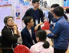 Hai học sinh Bắc Ninh sáng chế xe lăn nhận dạng cử chỉ của đầu