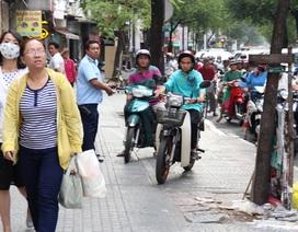 TPHCM: Quyết lấy lại vỉa hè và kêu gọi người dân đi bộ