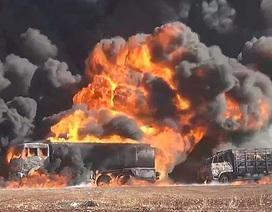 Xe quân sự trúng bom ở Syria, 4 quân nhân Nga thiệt mạng