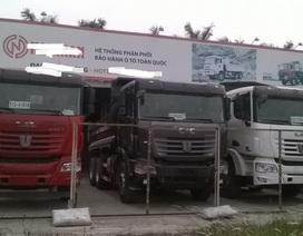 """Hết thời hưng thịnh, xe tải Trung Quốc xếp hàng """"phơi nắng"""", chẳng ai mua"""