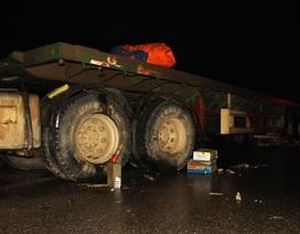 Vợ chồng chết thảm dưới bánh xe tải ngày giáp Tết