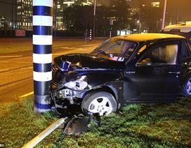 Aguero thoát chết sau tai nạn giao thông tại Hà Lan