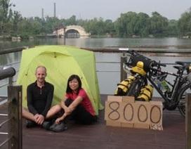 Cô dâu Việt kể về kỳ trăng mật... đạp xe từ Âu sang Á