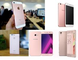 Loạt smartphone màu hồng dưới 10 triệu đồng dành cho ngày 8/3
