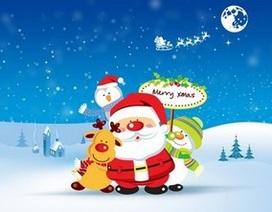 Bộ sưu tập hình nền tràn ngập sắc màu đón Noel