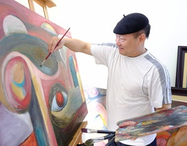 """Chờ đợi gì ở triển lãm tranh sơn mài """"Du và dội"""" của họa sĩ Ngô Xuân Bính?"""