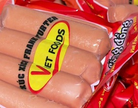 Hà Nội báo cáo Thủ tướng vụ xúc xích Viet Foods