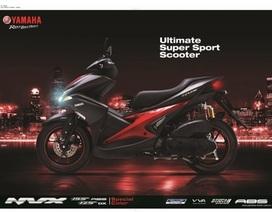 Yamaha NVX thêm loạt màu mới, được trang bị phuộc dầu, chắn bùn chính hãng