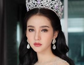 """Ngẩn ngơ ngắm gương mặt """"không góc chết"""" của tân hoa hậu chuyển giới Thái Lan"""