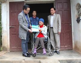 Hơn 28 triệu đồng đến với nữ quân nhân Trường Sơn nghèo bất hạnh
