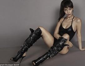 Bella Hadid gợi cảm và cá tính trong ảnh quảng cáo mới