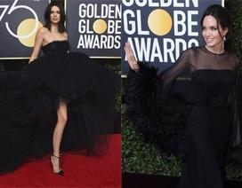 Người đẹp đồng loạt diện váy đen phản đối xâm hại tình dục tại lễ trao giải Quả Cầu Vàng