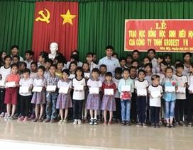 Grobest Việt Nam trao 100 suất học bổng đến học sinh nghèo Đồng Tháp