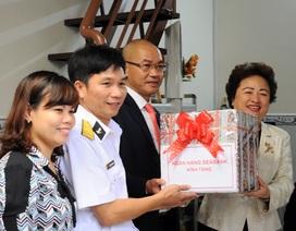 SeABank hỗ trợ sửa nhà cho cán bộ chiến sĩ vùng 2 hải quân