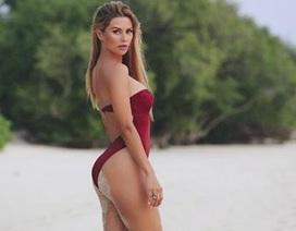 """Chiêm ngưỡng vẻ đẹp của cựu người mẫu Playboy đang """"phải lòng"""" Fellaini"""