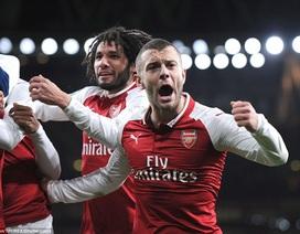 Vượt qua Chelsea, Arsenal vào chung kết League Cup gặp Man City