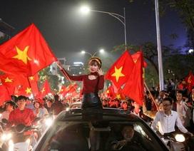 """Hà Nội, TPHCM lắp hàng chục màn hình """"khủng"""" chiếu trận chung kết U23"""