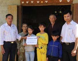 Hơn 190 triệu đồng bạn đọc giúp đỡ ba chị em mất bố, mẹ bỏ đi biệt tích