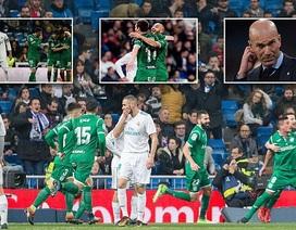 Thua sốc tại Bernabeu, Real Madrid bị loại khỏi Cúp Nhà vua